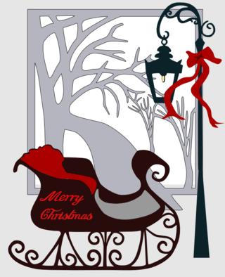 Christmascard2009sleigh