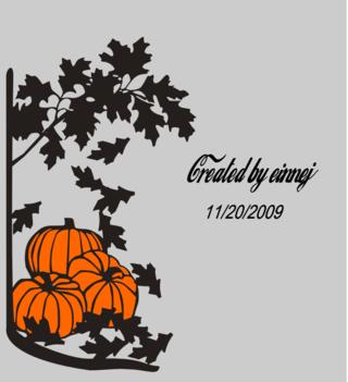 Pumpkinsandleaves