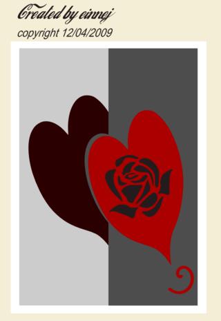 Roseheartedgecard