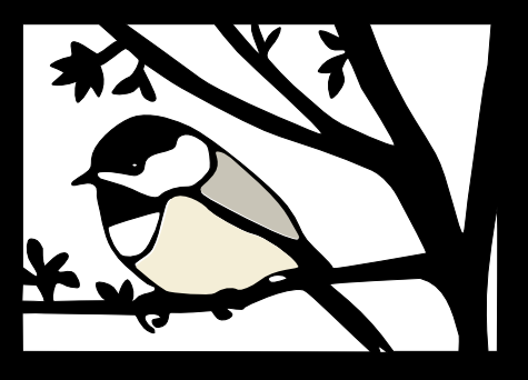 Black cap chicadee