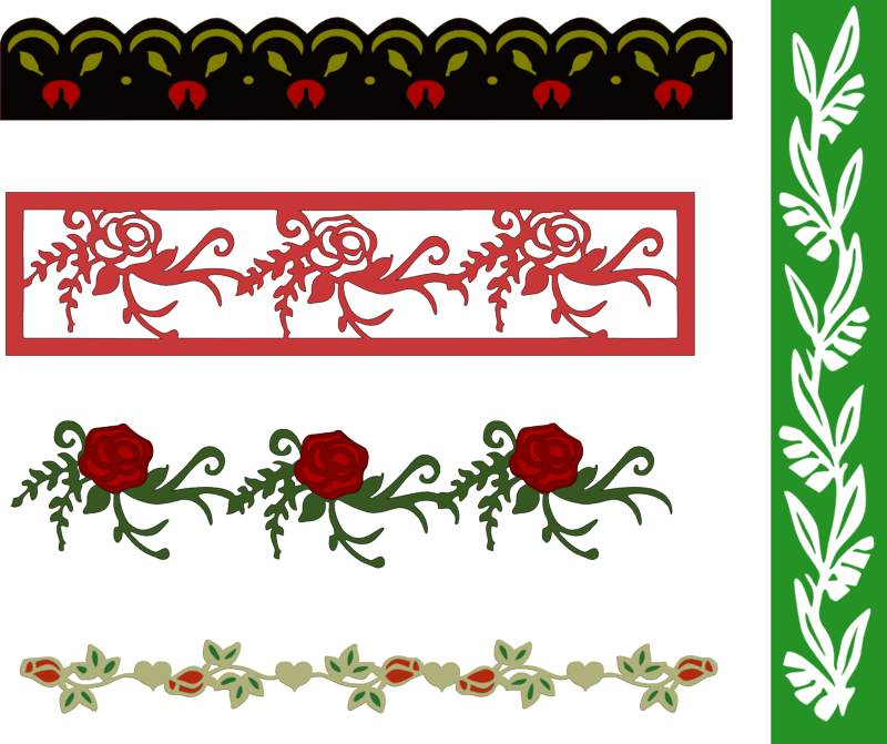 Flower_borders_one