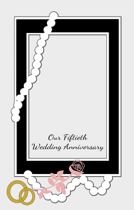 Fiftieth wedding anniversary