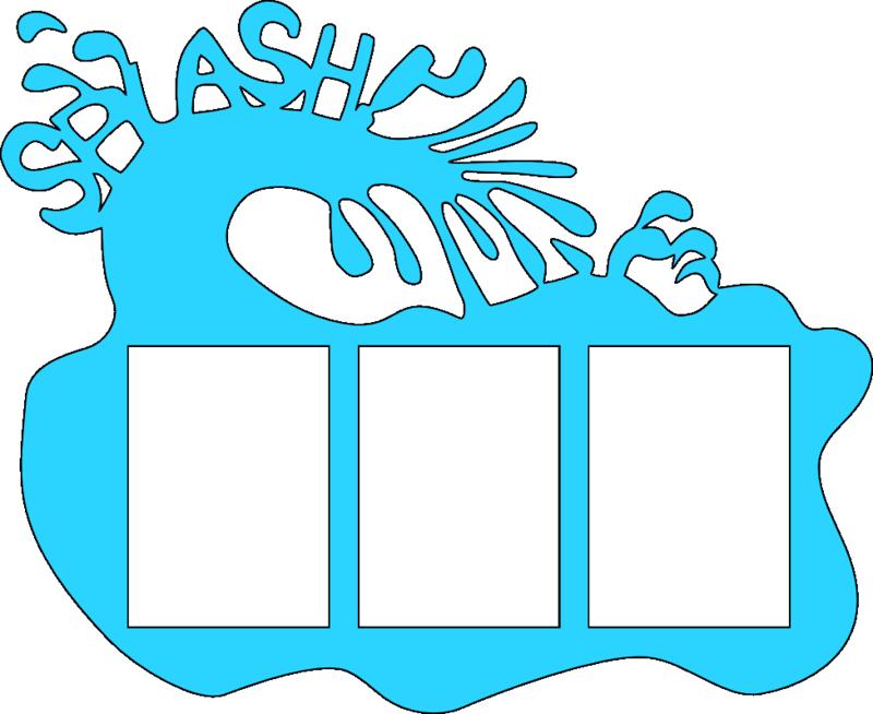 Splash wallet frame