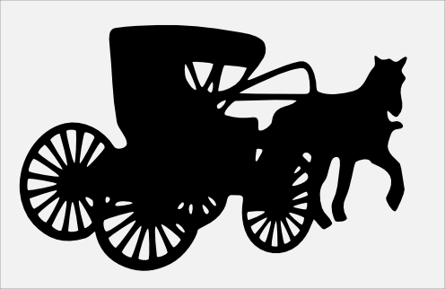 Horse and buggy only